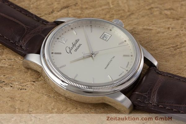 Used luxury watch Glashütte Senator steel automatic Kal. GUB 39  | 162138 14