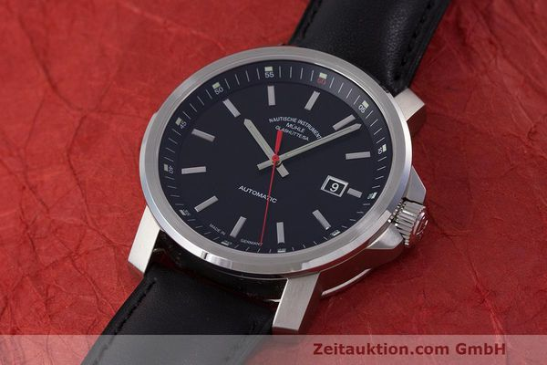 Used luxury watch Mühle 29er Big steel automatic Kal. SW200-1 Ref. M1-25-30  | 162140 01