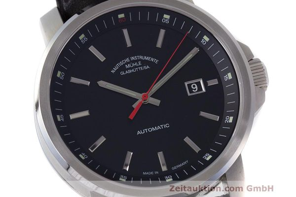 Used luxury watch Mühle 29er Big steel automatic Kal. SW200-1 Ref. M1-25-30  | 162140 02