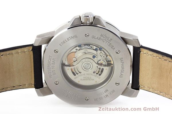 Used luxury watch Mühle 29er Big steel automatic Kal. SW200-1 Ref. M1-25-30  | 162140 09