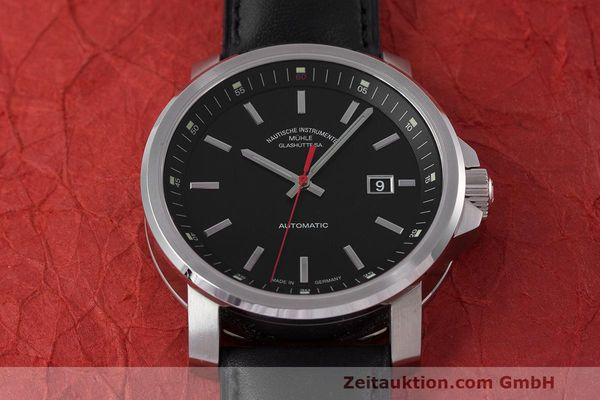 Used luxury watch Mühle 29er Big steel automatic Kal. SW200-1 Ref. M1-25-30  | 162140 16