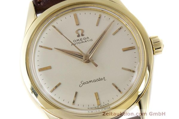Used luxury watch Omega Seamaster 18 ct gold automatic Kal. 471 Ref. 2802SC VINTAGE  | 162143 02
