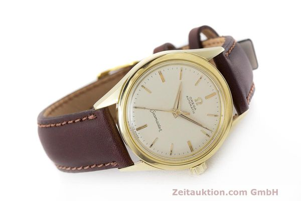 Used luxury watch Omega Seamaster 18 ct gold automatic Kal. 471 Ref. 2802SC VINTAGE  | 162143 03