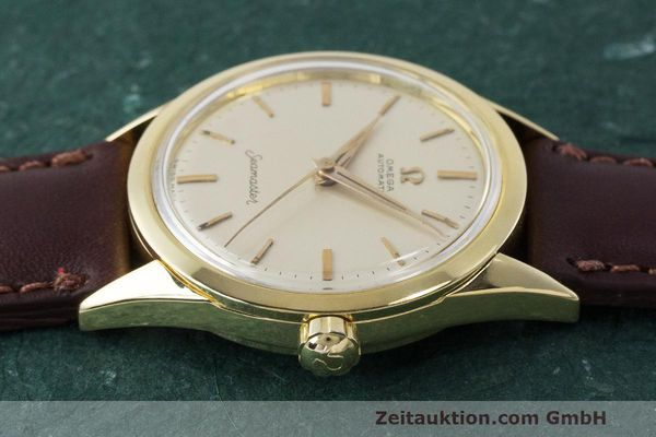 Used luxury watch Omega Seamaster 18 ct gold automatic Kal. 471 Ref. 2802SC VINTAGE  | 162143 05