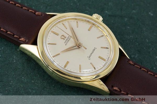 Used luxury watch Omega Seamaster 18 ct gold automatic Kal. 471 Ref. 2802SC VINTAGE  | 162143 13