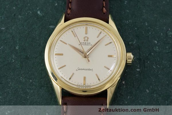 Used luxury watch Omega Seamaster 18 ct gold automatic Kal. 471 Ref. 2802SC VINTAGE  | 162143 14