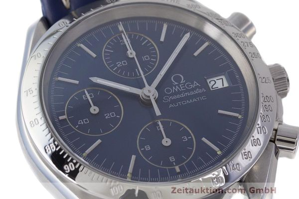 Used luxury watch Omega Speedmaster chronograph steel automatic Kal. 1155 ETA 7750 Ref. 1750063  | 162147 02