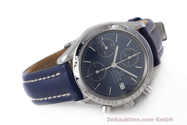 Used luxury watch Omega Speedmaster chronograph steel automatic Kal. 1155 ETA 7750 Ref. 1750063  | 162147 03
