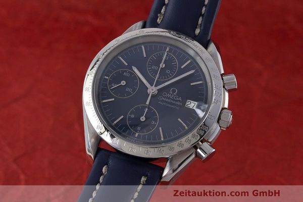 Used luxury watch Omega Speedmaster chronograph steel automatic Kal. 1155 ETA 7750 Ref. 1750063  | 162147 04