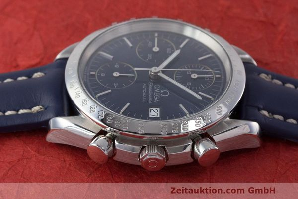 Used luxury watch Omega Speedmaster chronograph steel automatic Kal. 1155 ETA 7750 Ref. 1750063  | 162147 05