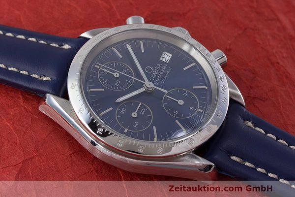 Used luxury watch Omega Speedmaster chronograph steel automatic Kal. 1155 ETA 7750 Ref. 1750063  | 162147 13