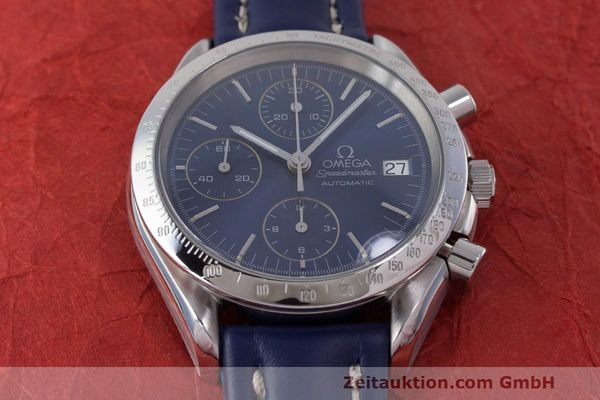 Used luxury watch Omega Speedmaster chronograph steel automatic Kal. 1155 ETA 7750 Ref. 1750063  | 162147 14