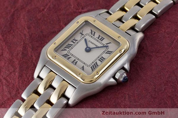Used luxury watch Cartier Panthere steel / gold quartz Kal. 157 Ref. 1120  | 162153 01