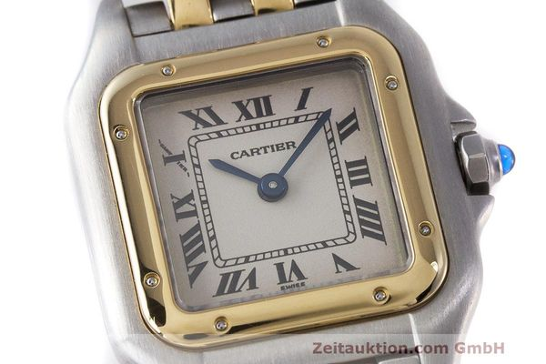 Used luxury watch Cartier Panthere steel / gold quartz Kal. 157 Ref. 1120  | 162153 02