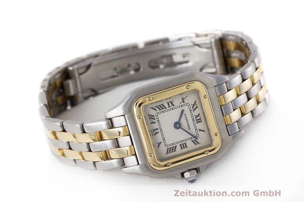 Used luxury watch Cartier Panthere steel / gold quartz Kal. 157 Ref. 1120  | 162153 03