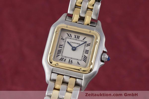 Used luxury watch Cartier Panthere steel / gold quartz Kal. 157 Ref. 1120  | 162153 04
