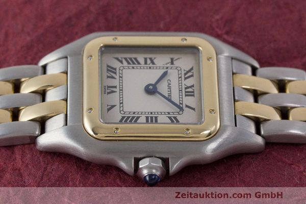 Used luxury watch Cartier Panthere steel / gold quartz Kal. 157 Ref. 1120  | 162153 05