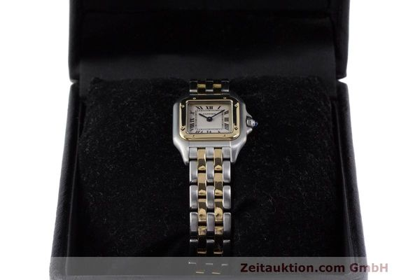 Used luxury watch Cartier Panthere steel / gold quartz Kal. 157 Ref. 1120  | 162153 07