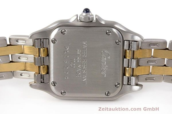 Used luxury watch Cartier Panthere steel / gold quartz Kal. 157 Ref. 1120  | 162153 09