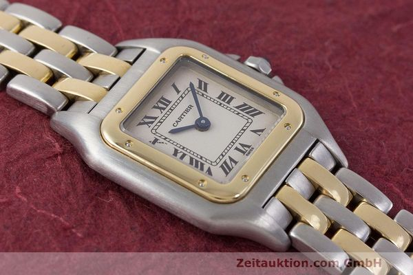 Used luxury watch Cartier Panthere steel / gold quartz Kal. 157 Ref. 1120  | 162153 14