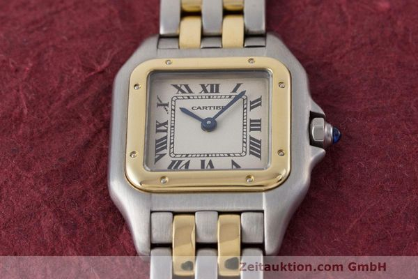 Used luxury watch Cartier Panthere steel / gold quartz Kal. 157 Ref. 1120  | 162153 15