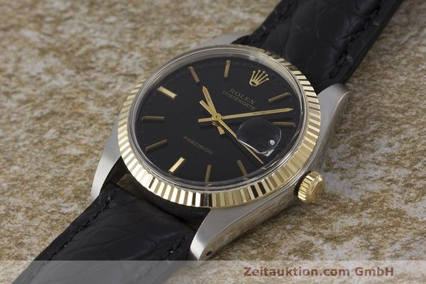 Used luxury watch Rolex Datejust steel / gold manual winding Kal. 1225 Ref. 6694  | 162162 01