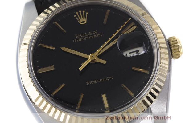 Used luxury watch Rolex Datejust steel / gold manual winding Kal. 1225 Ref. 6694  | 162162 02