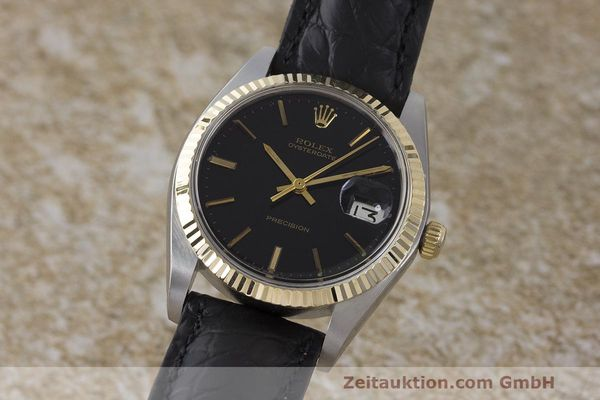 Used luxury watch Rolex Datejust steel / gold manual winding Kal. 1225 Ref. 6694  | 162162 04