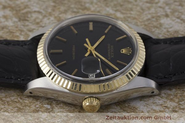 Used luxury watch Rolex Datejust steel / gold manual winding Kal. 1225 Ref. 6694  | 162162 05