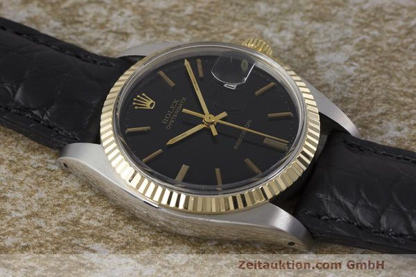 Used luxury watch Rolex Datejust steel / gold manual winding Kal. 1225 Ref. 6694  | 162162 13