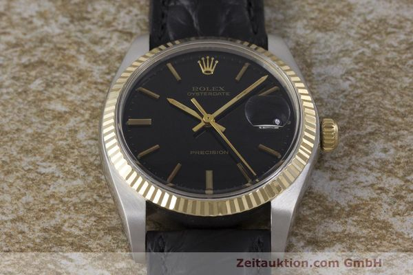 Used luxury watch Rolex Datejust steel / gold manual winding Kal. 1225 Ref. 6694  | 162162 14