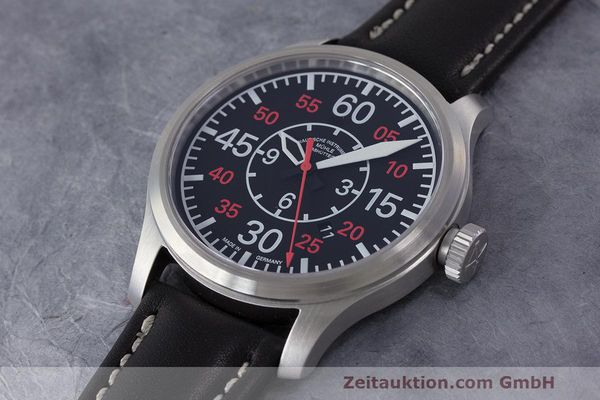 Used luxury watch Mühle Terranaut II steel automatic Kal. ETA 2824-2 Ref. M1-37-10  | 162163 01