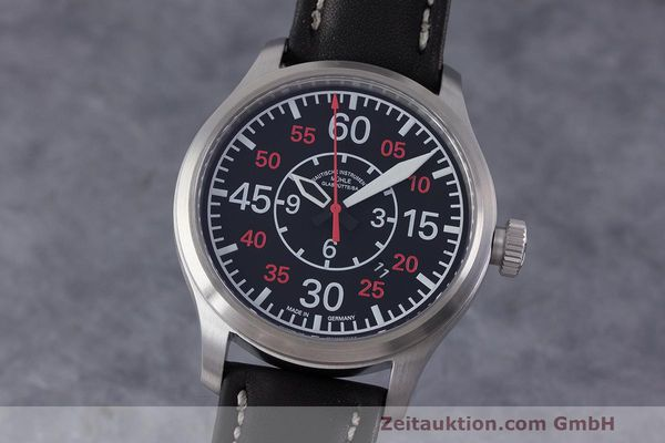 Used luxury watch Mühle Terranaut II steel automatic Kal. ETA 2824-2 Ref. M1-37-10  | 162163 04