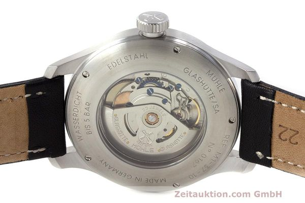 Used luxury watch Mühle Terranaut II steel automatic Kal. ETA 2824-2 Ref. M1-37-10  | 162163 09