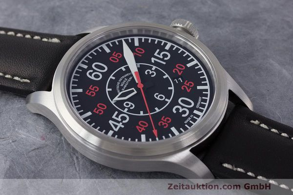 Used luxury watch Mühle Terranaut II steel automatic Kal. ETA 2824-2 Ref. M1-37-10  | 162163 13