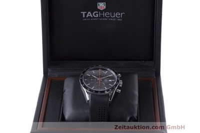 TAG HEUER CARRERA CHRONOGRAPH AUTOMATIK HERRENUHR STAHL CAL 16 NP: 4100,- Euro [162166]