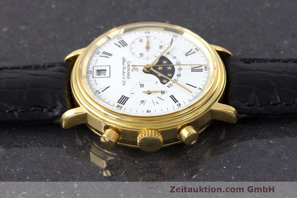 Used luxury watch Chronoswiss A. Rochat chronograph gold-plated manual winding Kal. Valj. 7733 Ref. 34300  | 162168 05