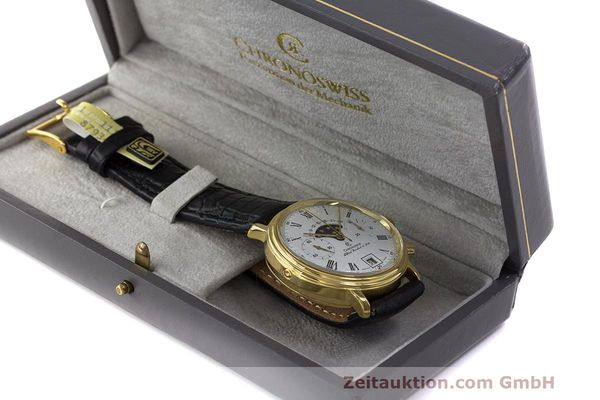 Used luxury watch Chronoswiss A. Rochat chronograph gold-plated manual winding Kal. Valj. 7733 Ref. 34300  | 162168 07