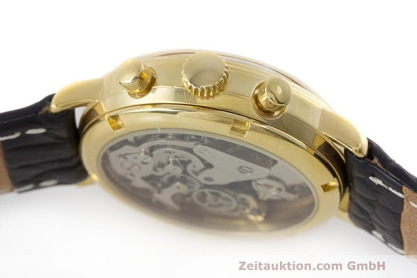 Used luxury watch Chronoswiss A. Rochat chronograph gold-plated manual winding Kal. Valj. 7733 Ref. 34300  | 162168 08
