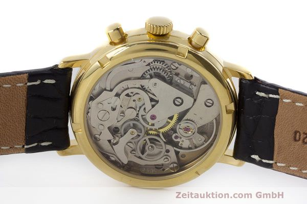 Used luxury watch Chronoswiss A. Rochat chronograph gold-plated manual winding Kal. Valj. 7733 Ref. 34300  | 162168 09