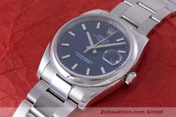 Used luxury watch Rolex Date steel automatic Kal. 3135 Ref. 115200  | 162174 01