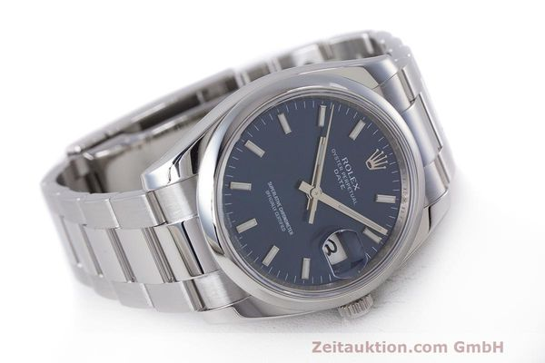 Used luxury watch Rolex Date steel automatic Kal. 3135 Ref. 115200  | 162174 03