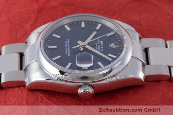 Used luxury watch Rolex Date steel automatic Kal. 3135 Ref. 115200  | 162174 05