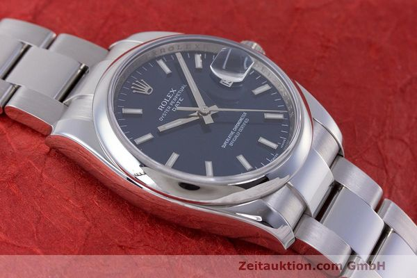 Used luxury watch Rolex Date steel automatic Kal. 3135 Ref. 115200  | 162174 14