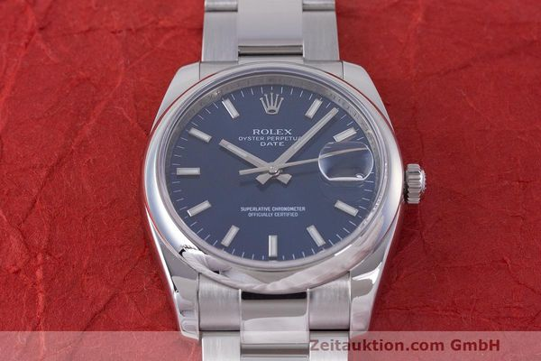 Used luxury watch Rolex Date steel automatic Kal. 3135 Ref. 115200  | 162174 15