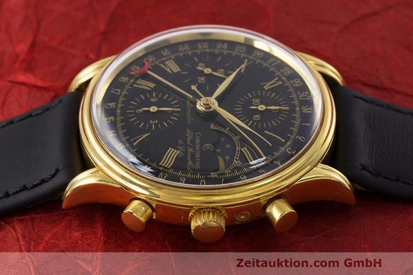 Used luxury watch Chronoswiss A. Rochat chronograph gold-plated automatic Kal. Valj. 7750 Ref. 77990  | 162177 05