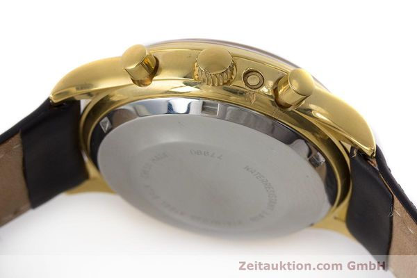 Used luxury watch Chronoswiss A. Rochat chronograph gold-plated automatic Kal. Valj. 7750 Ref. 77990  | 162177 08