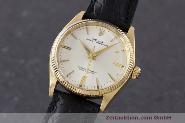 ROLEX OYSTER PERPETUAL ORO 18 CT AUTOMATISMO KAL. 1560 LP: 19050EUR [162179]