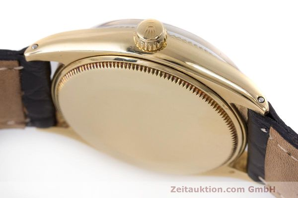 Used luxury watch Rolex Oyster Perpetual 18 ct gold automatic Kal. 1560 Ref. 1002  | 162179 11