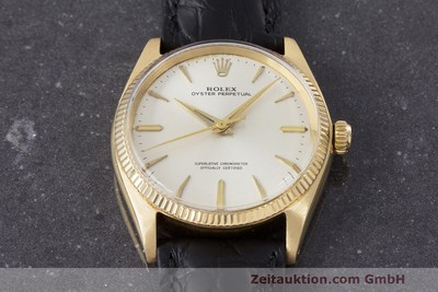 ROLEX OYSTER PERPETUAL OR 18 CT AUTOMATIQUE KAL. 1560 LP: 19050EUR [162179]